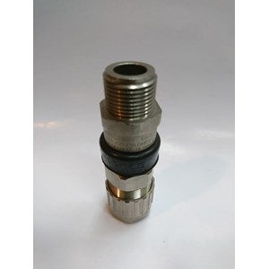 Cable Gland Hawke Brass Nickel Plated 501/453/RAC/UNIVERSAL 1