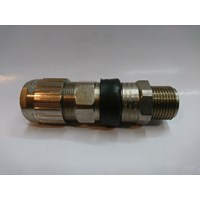 Cable Gland Hawke Brass Nickel Plated 501/453/RAC/UNIVERSAL