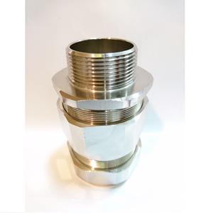 OSCG Cable Gland Brass Nickel 1 1/2
