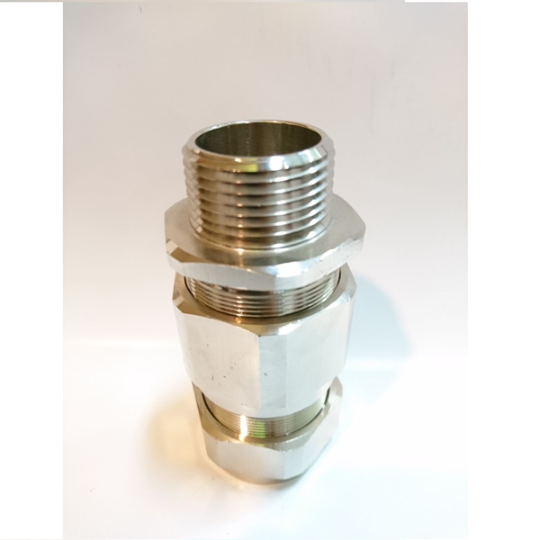 "OSCG Cable Gland Brass Nickel 1"" 32B"