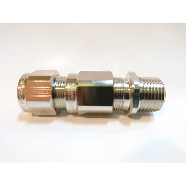 "OSCG Cable Gland Brass nickel 1/2"" 16B"