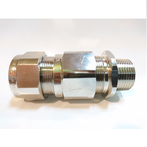 "OSCG Cable gland Brass Nickel 3/4"" 25B"