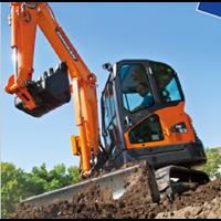 Jual Excavator Doosan DX63-3