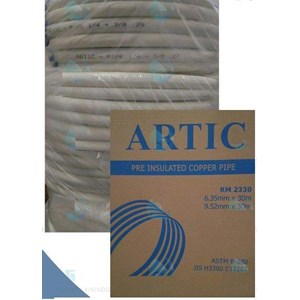 Pipa AC Artic ukuran 1/4 + 3/8 Panjang 30 meter