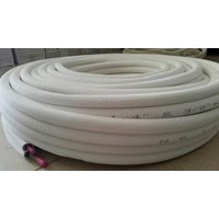 Pipa AC Saeki ukuran 1/4 + 3/8 Panjang 30 meter