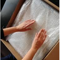 Bubble Wrap Packaging safe handle
