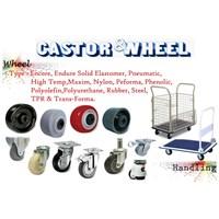 Troli Roda Castor Wheels