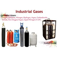 Industrial Gas Cylinder Isi Tabung Gas
