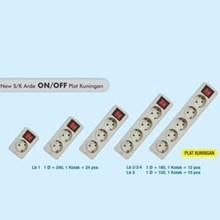 Colokan listrik tanpa kabel lubang 3