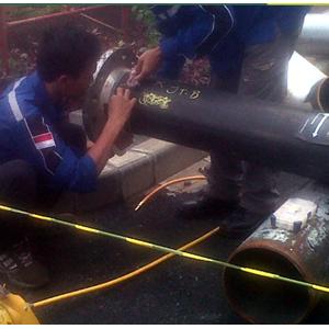Pemasangan Pipa Steam Full Argon Dan X-Tray By PT. Mega Jaya Maju Indonesia