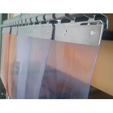 Tirai plastik cold storage