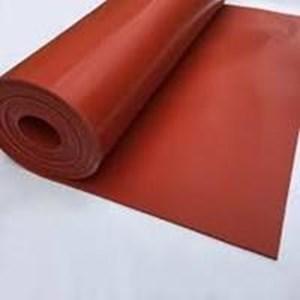 Karet silicone merah