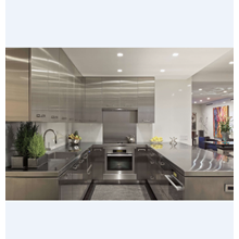 Silver Kitchen Cabinets Stylist Design