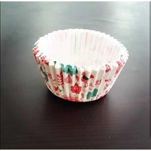Round cup cake