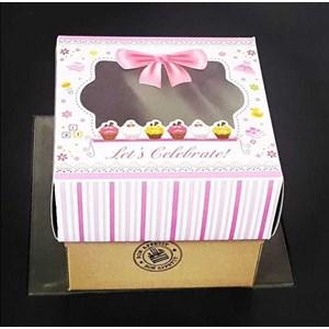 Box Cake Bon Appetite 18X18