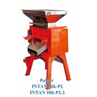 Mesin Pengolah Kopi Pengupas Kulit Buah Basah Segar Pulper Intan Hsl-P1.1