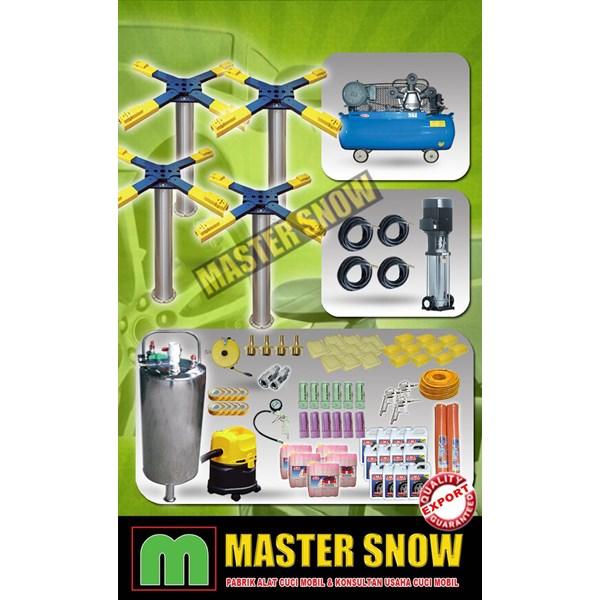 Aksesoris Mobil Paket Alat Cuci Mobil 4  Hidrolik Type X