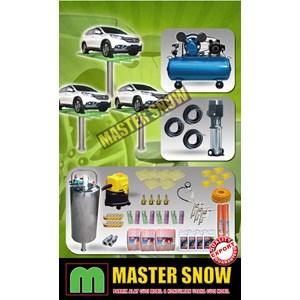 Aksesoris Mobil Paket Alat Cuci Mobil 5 Hidrolik Type H-Track