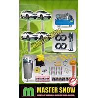 Aksesoris Mobil Paket Alat Cuci Mobil 4 Hidrolik Type H-Track