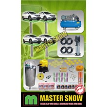 Aksesoris Mobil Paket Alat Cuci Mobil 4 Hidrolik T
