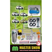 Aksesoris Mobil Paket Alat Cuci Mobil 5 Hidrolik Type H Track