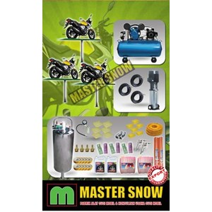 Sepeda Motor Dan Mobil Paket Alat Cuci Hidrolik Motor 3