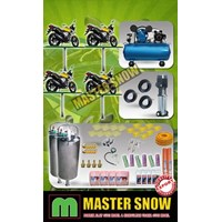 Sepeda Motor Dan Mobil Paket Alat Cuci Hidrolik Motor 4