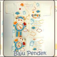 Baju Bayi Pendek Tamashii Clock Sleep Well 1