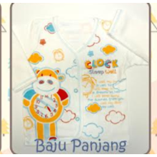 Baju Bayi Panjang Tamashii Clock Sleep Well
