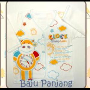 Baju Panjang Tamashii Clock Sleep Well
