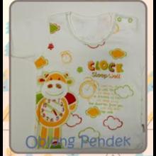 Baju Bayi Kaos Oblong Pendek Tamashii Clock Sleep Well
