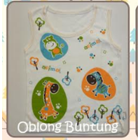 Baju Bayi Oblong Buntung Tamashii Animal