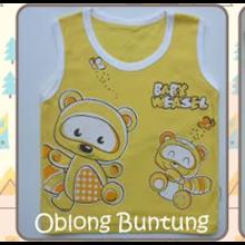 Baju Bayi Kaos Oblong Buntung Tamashii Baby Weasel