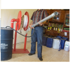 Standing Fixed Hose Reel C/W Fire Hose 1
