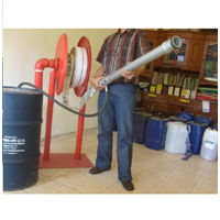 Standing Fixed Hose Reel C/W Fire Hose