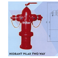 Hydrant Pilar Two Way