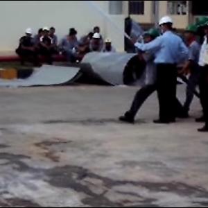 Pelatihan Operational Hydrant System By PT. Liu San Menang
