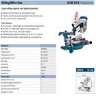 Cut machine Bosch GCM 10 S 1