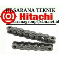 HITACHI ROLLER CHAINS ANSI STANDART PT SARANA TEKNIK and CHAIN BS STANDARD