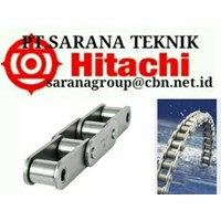 HITACHI ROLLER CHAINS ANSI STANDART PT SARANA TEKNIK AND SPROCKETS HITACHI