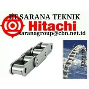 HITACHI ROLLER CHAIN PT SARANA TEKNIK HITACHI CHAIN ANSI BS and hitachi roller chain AND CONVEYOR CHAINS