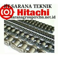 HITACHI ROLLER CHAIN PT SARANA TEKNIK HITACHI CHAIN ANSI BS and hitachi roller chain CONVEYORS SPROCKETS