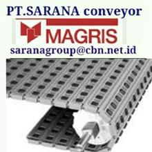 MAGRIS TABLETOP CHAIN PT SARANA CONVEYOR MAGRIS tabletop THERMOPLASTIC & STEEL - INDONESIA JAKARTA