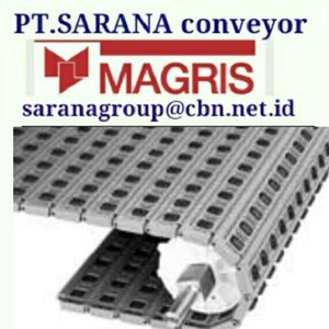 MAGRIS TABLETOP CHAIN PT SARANA CONVEYOR MAGRIS tabletop THERMOPLASTIC & STEEL - INDONESIA JAKARTA