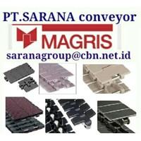 Jual MAGRIS TABLETOP CHAIN PT SARANA CONVEYOR MAGRIS THERMOPLASTIC & STEEL 4 2