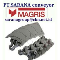 MAGRIS TABLETOP CHAIN PT SARANA CONVEYOR MAGRIS THERMOPLASTIC & STEEL 4 1