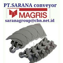 MAGRIS TABLETOP CHAIN PT SARANA CONVEYOR MAGRIS THERMOPLASTIC & STEEL 4