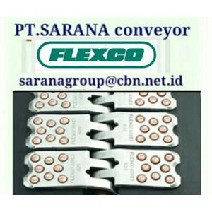 FLEXCO BELT FASTENERS ALLIGATOR FOR CONVEYOR BELT PT SARANA CONVEYOR BELTS