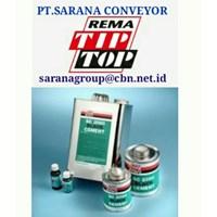 Jual REMA TIP TOP PLASTIC CEMENT ADHESIVE SC 2000  PT SARANA CONVEYORS rema tip top 2