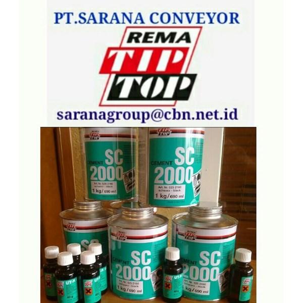 REMA TIP TOP PLASTIC CEMENT ADHESIVE SC 2000  PT SARANA CONVEYORS rema tip top